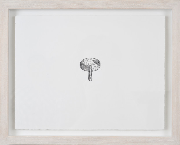 Untitled (Tool), 2011. Polyester-litho print on Fabriano paper, 37cm x 28.5cm