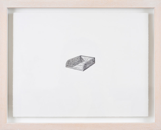 Untitled (Drawer), 2011. Polyester-litho print on Fabriano paper, 37cm x 28.5cm