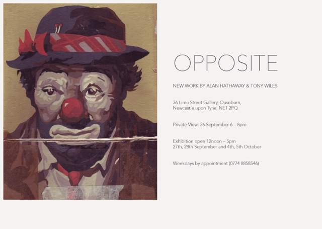 Opposite Exhibition 26th September 2014, 38 Lime Street Gallery